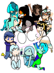 Big OC Group Shot!!!!!! by awsomness123
