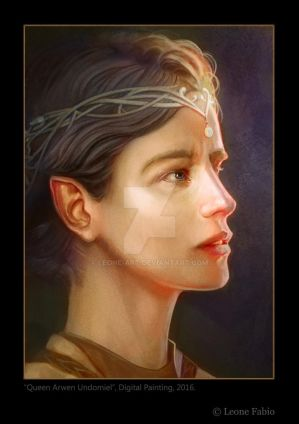 Queen Arwen Undomiel by Leone-art