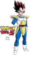 Dragonball Z - Vegeta Explorador by TriiGuN