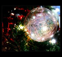 Christmas Bubble 4 by Forestina-Fotos