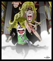 run Sanji run and BG by Choparini