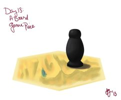 Day 13: A Board Game Piece by Limlight