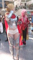 Unknown and Inori from Guilty Crown at AX 2013 by trivto