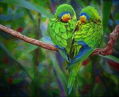 two hearts in one by eymage