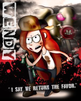 Gravity Falls Wendy by xeternalflamebryx