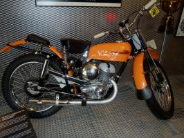 1956 HD Racer 165 two stroke by Caveman1a