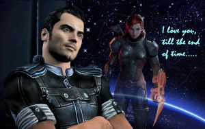 my first Mass Effect 3 wallpaper by Cassidy-Slingby
