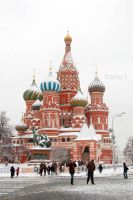 St. Basil's Cathedral by SashaZombie