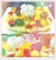 fresh fruit salad Abu Dhabi by amirajuli