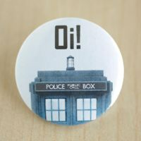 Oi! (Tardis) by MonstersPins