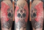 My Skull Tattoo by itchysack