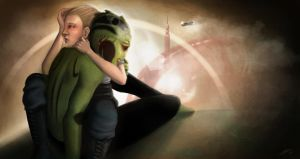 Mass Effect: A Moment of Weakness by AlanaKai