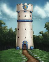 Thorralan Tower Concept by umbrafox