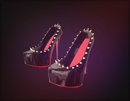 Christian Louboutin Spike Pumps - DOWNLOAD - by LizzyVolti