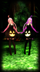 MMD ANO3 Contest - Ghost Type Gourgeist Gijinka by 2234083174