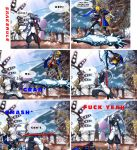 Hakumen's awesome moment comic by SnakeRule