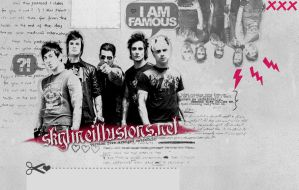 Avenged Sevenfold Layout by SkylineIllusions