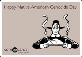 Happy Native American Genocide Day by uki--uki