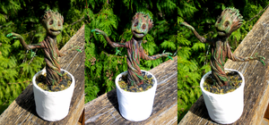 I am Groot by Law-of-Murph