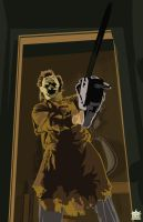 Leatherface by SarshelYam