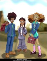 Boondocks Academy by thetani