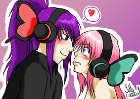 Vocaloid: Magnet XD by SillyCaracal
