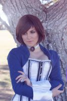 Bioshock Infinite Elizabeth Comstock Cosplay by CosplayInABox
