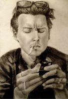 Johnny Depp by yasminlily