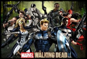 Marvel The Walking Dead by icequeen654123