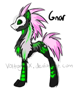 Cloven torch hound - Gnar by Voltage-X