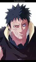 Naruto 599 Tobi Real Face - Obito? by VitalikLoL