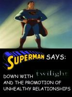 Superman Says III by NearRyuzaki90