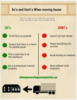 Cheap Moving Companies infographics by JennineGray