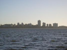 Perth Skyline by Chelsia-x