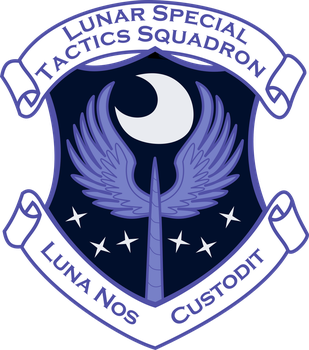 Luna Special Forces Patch by tensaioni