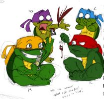 W.I.P. turtletodds by FrothingLizard