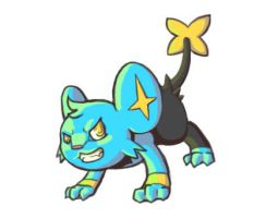 Angry Shinx by H-S