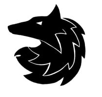 Tribal Wolf by CursedNight