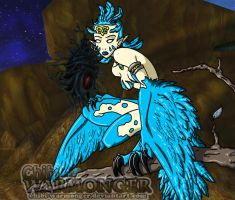 =Creatures of WoW= Durotar - Dustwind Harpy by Chibi-Warmonger