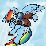 Sky Pirate Dashie by gregeyman555