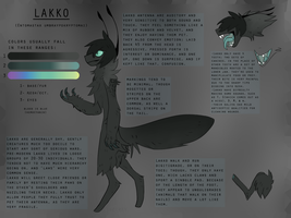 Lakko species ref by Incyray
