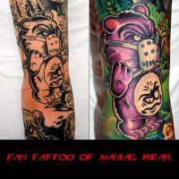 Fan tattoo of my ART part 5 by Undead-Art