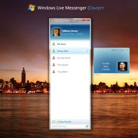 Windows Live Messenger Concept by digitalsoft