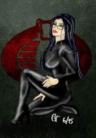 Baroness on bended knee by 2dresq