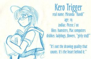 Kero's first ID by KeroTrigger