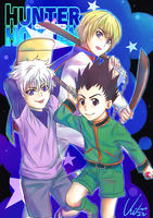HUNTER X HUNTER by Cygnetzzz