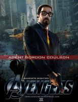 Video Game Avengers Gordon Coulson Fan Art by rs2studios