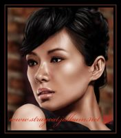 Asian Beauty_Zhang ZiYi by straycat27