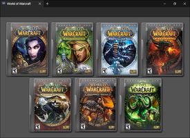 World of Warcraft by GameBoxIcons