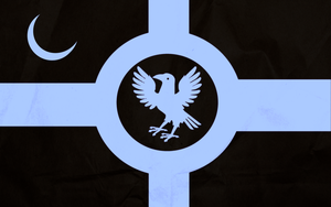 Flag of the Kingdom of Eternal Night by zalezsky